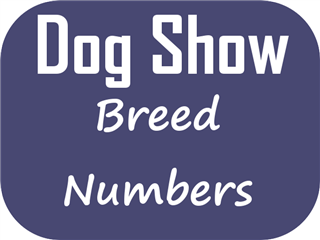 Breed Numbers – Hobart Dog Club Show 19-Jan